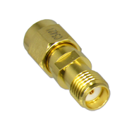 C3421B SMA/Male to SMA/Female Gold Plated Coaxial Adapter Centric RF