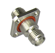 C3384 SMA/Female to SMA/Female Flange Adapter Centric RF