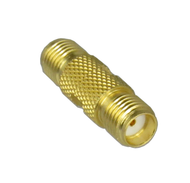 C3373 SMA/Female to SMA/Female Coaxial Adapter with Knurl Centric RF