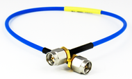C585-086-09 SMA/Male to SMA/Male 18 Ghz .086 Formable 9 inch Cable Assembly Centric RF