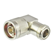 C5536 N/Male to N/Female Right Angle 6 Ghz Adapter Centric RF