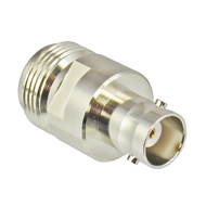 C5001 BNC/Female to N/Female Brass Coaxial Adapter Centric RF