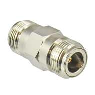 C5500 N/Female to N/Female Brass Coaxial Adapter Centric RF