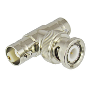 C2182 BNC Tee Female Male Female Adapter Centric RF