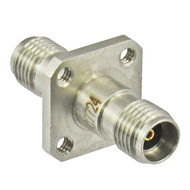 C7724 3.5/Female to 3.5/Female Flange Adapter Centric RF