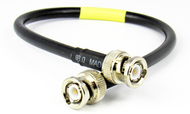C521-240-18 BNC/Male to BNC/Male LMR240 18 inch Cable Assembly Centric RF