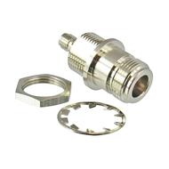 C3604 N/Female to SMA/Female Bulkhead Adapter Centric RF