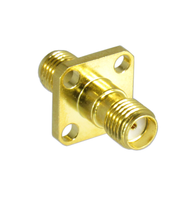 C3107 SMA/Female to SMA/Female Flange Adapter Centric RF