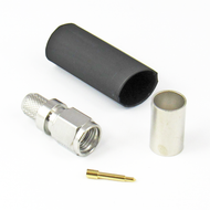 CX2401 SMA/Male Crimp/Solder Connector for LMR240 Centric RF