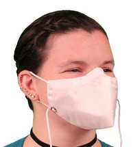 White Silk  I Can Breathe  Allergy Mask