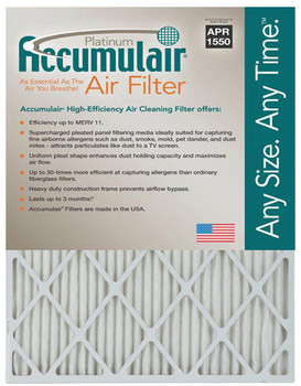Replacement Filters - 1'' MERV 11 Rating (6 per case)