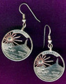 Nebraska Quarter Earrings