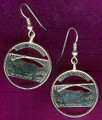 West Virginia Quarter Earrings
