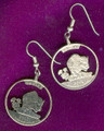 Kansas Quarter Earrings