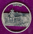Iowa Quarter  Cut Out, Pendant, or KeyRing