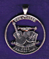 Tennessee Quarter Cut Out, Pendant, or KeyRing