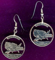 Louisiana Quarter Earrings