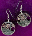 Vermont Quarter Earrings
