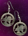 New York Quarter Earrings