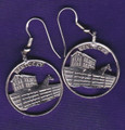 Kentucky Quarter Earrings
