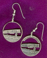 North Carolina Quarter Earrings