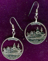 Virginia Quarter Earrings