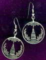 Maryland Quarter Earrings