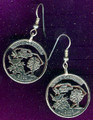 South Carolina Quarter Earrings