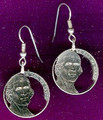 "Jefferson ""Return to Monticello"" Nickel Earrings"