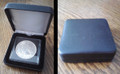 Black Leatherette Box For 1 Coin