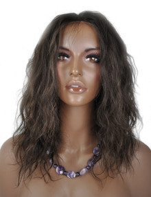 Lace Front Wig - Brazilian Virgin Hair