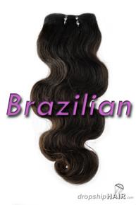 Brazilian Virgin Double Drawn Royal Hair Weft