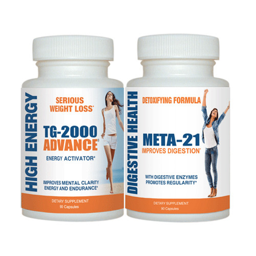 Get Thinner! Combo   (1 TG-2000 ADVANCE & 1 META-21)