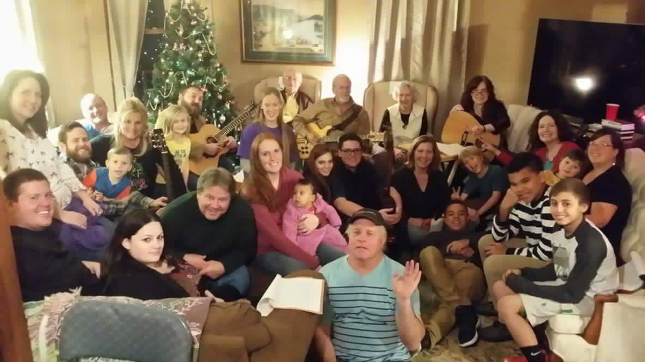 Our Annual Falcsik Family Christmas Sing-a-Long