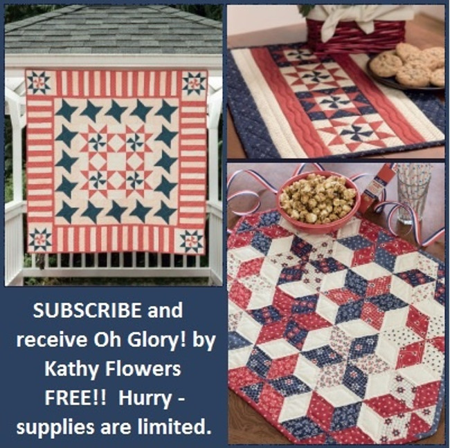Subscribe NOW and receive Oh Glory! FREE