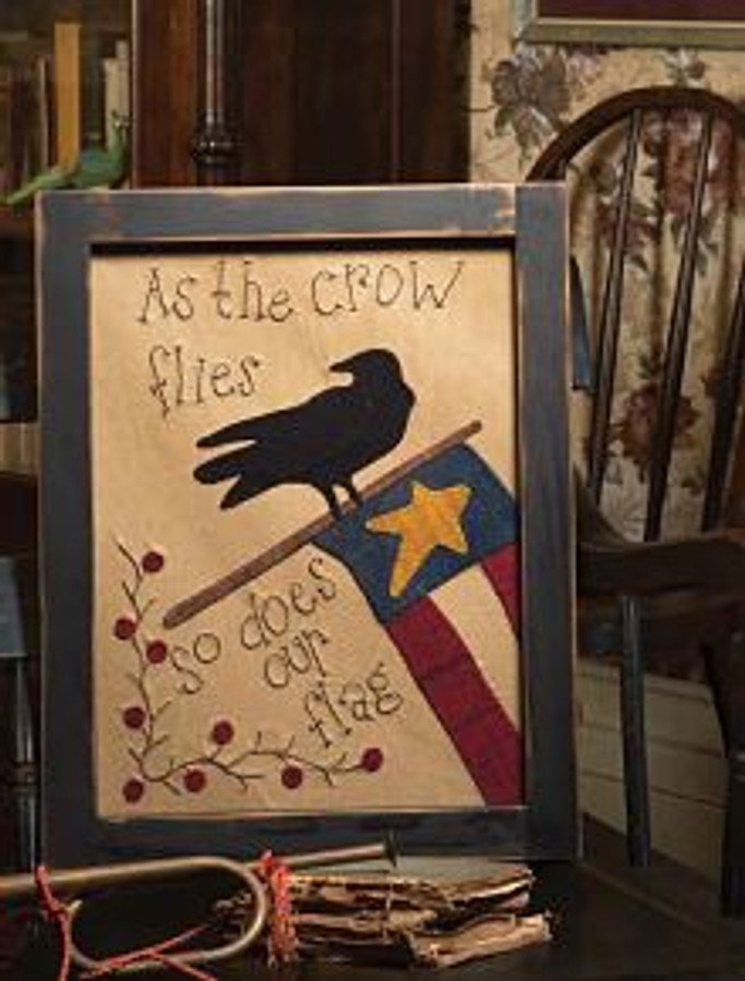 At the Crow Flies by Plays With Wool Designs