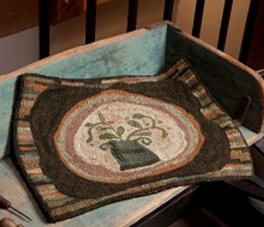 Dusty Vase Rug Tonya Robey Mad Hen Primitives