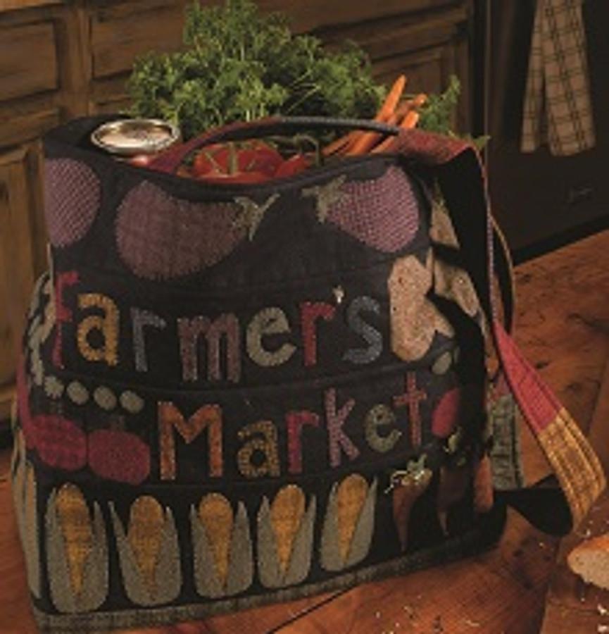 Farmer's Market Tote Debra Brand Rhonda McCray Donna Stevens Pudding Stone Road