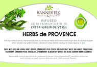 Herbs de Province - Infused Ultra Premium Certified Extra Virgin Olive Oil