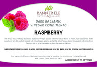 Raspberry, Dark Balsamic