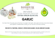 Garlic - Certified Premium Extra Virgin Olive Oil