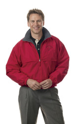 "Dunbrooke 8058 - Men's ""Triumph"" Full-Zip Jacket  (Red / Charcoal Heather)"