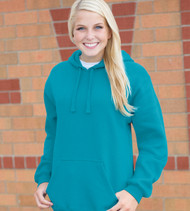 J8824 J-America Adult Premium Fleece Hooded Pullover Sweatshirt