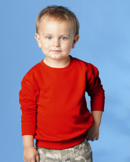 3317 RABBIT SKINS TODDLER/JUVY FLEECE SWEATSHIRT
