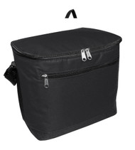 "1695 LIBERTY BAGS ""JOSEPH"" 12-PACK COOLER  (Black)"