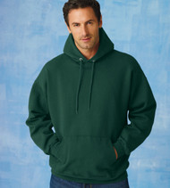 F170 HANES ADULT ULTIMATE COTTON PULLOVER HOOD