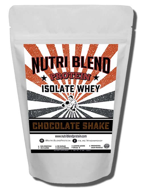 Nutri Blend Protein Chocolate Milk Shake TASTE AMAZING. Even when mixed with just water this protein just taste delicious. You will think its cheat day every day. This innovative new protein was specially formulated not only for serious bodybuilders but for the everyday health enthusiast that wants the best tasting protein out. Avoid the the junk and swap it for this protein-rich treat.