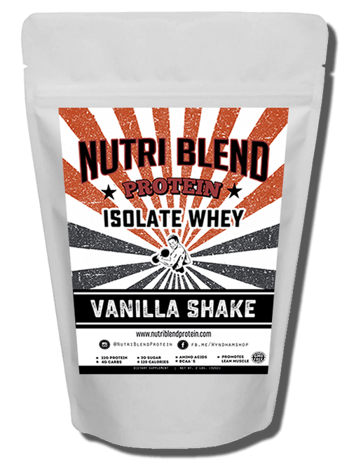 Nutri Blend Protein Vanilla Shake TASTE AMAZING. Even when mixed with just water this protein taste delicious. You will think its cheat day every day. This innovative new protein was specially formulated not only for serious bodybuilders but for the everyday health enthusiast that wants the best tasting protein out. Avoid the the junk and swap it for this protein-rich treat.