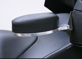 RT Series Black Adjustable Armrest - Fits 2010-18
