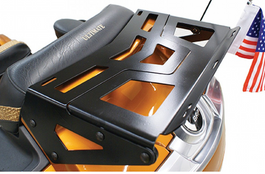 RT Series BLACK Expandable Rear Trunk Luggage Rack